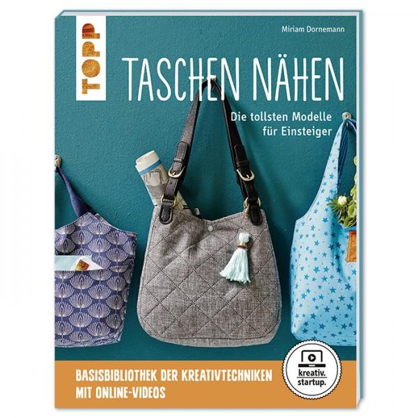 Buch - Taschen nähen: Die tollsten Modelle für Einsteiger 64 Seiten, 17x22cm, Softcover