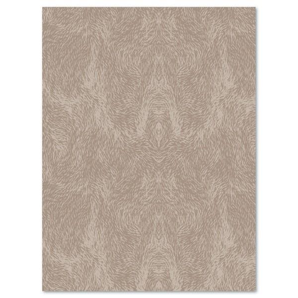 Decoupagepapier Wirbel hell-/dunkelgrau von Décopatch, 30x40cm, 20g/m²