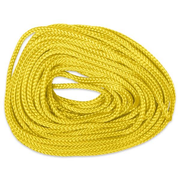 Paracord-Garn rund 3mm 10m gelb Makramee-Knüpfgarn, Polypropylen
