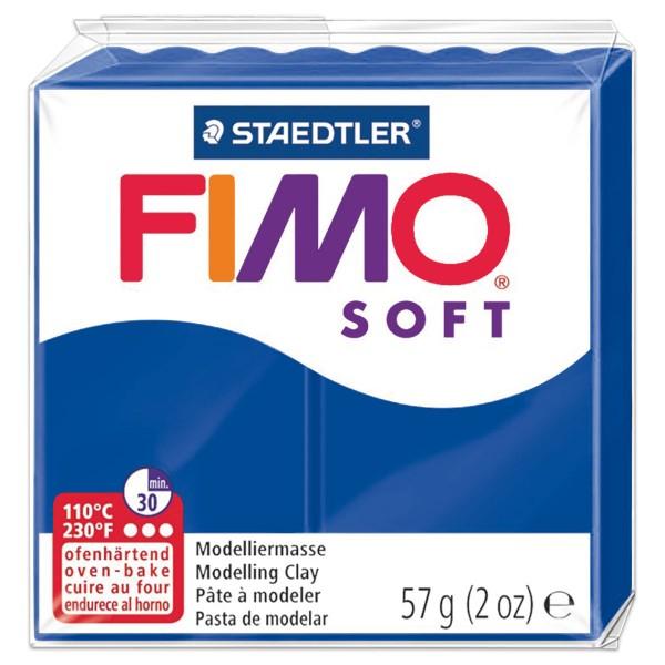 FIMO soft 55x55x15mm 57g pazifikblau ofenhärtende Modelliermasse