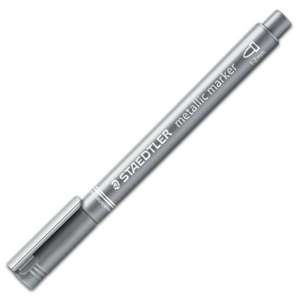 Staedtler Metallic Marker 1-2mm silber