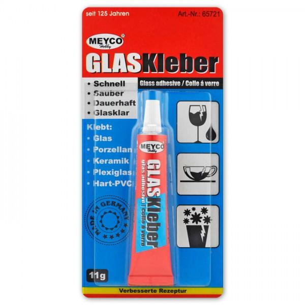 Glas-/Keramikkleber 11g transparent