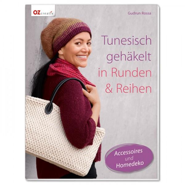 Buch - Tunesisch gehäkelt in Runden & Reihen 48 Seiten, 16,7x22cm, Softcover