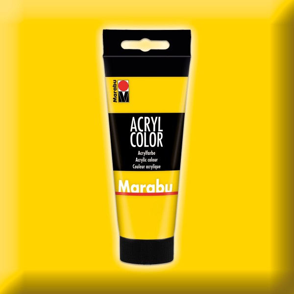 Marabu Acryl Color 100ml gelb