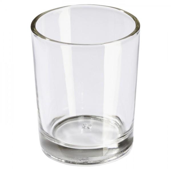 Teelichtglas/Kerzenglas ca. Ø 56x67mm