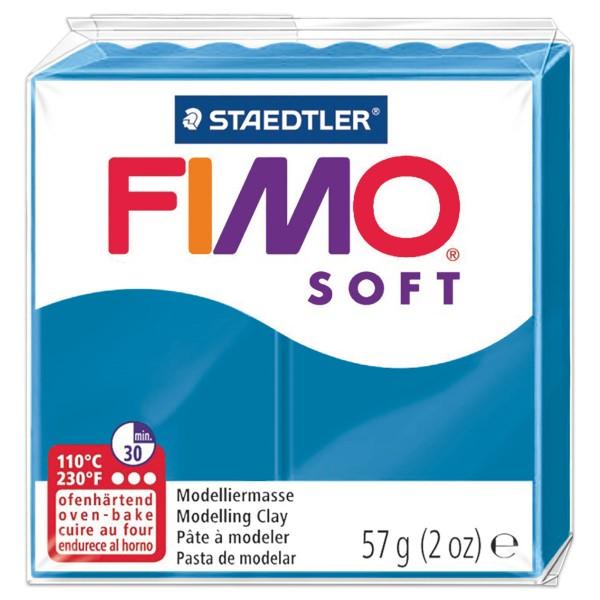 FIMO soft 55x55x15mm 57g pfefferminz ofenhärtende Modelliermasse