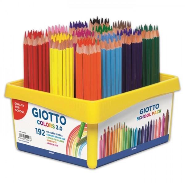 Giotto Colors 3.0 Mine 3mm 192 Farbstifte/12 Farben