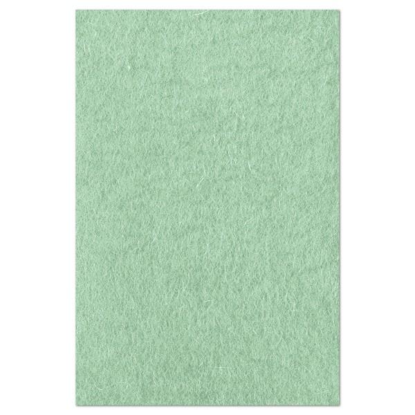 Wollfilz ca. 1-1,2mm 20x30cm fresh mint 100% Wolle