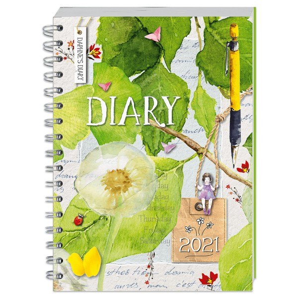 Buch - Daphnes´s Diary - Taschenkalender 2021 302 Seiten, 14,8x21cm, Softcover