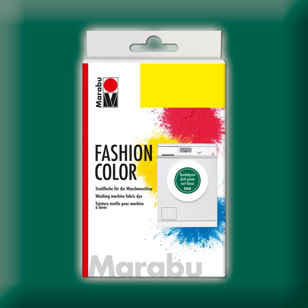 Marabu Fashion Color 30g dunkelgrün kochechte Textilfarbe