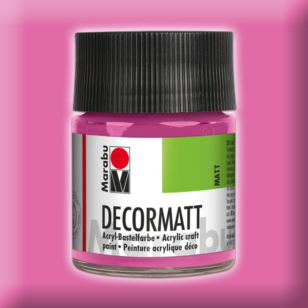 Decorlack Acryl matt 50ml pink