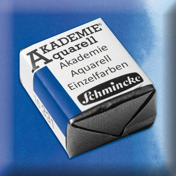 Akademie Aquarell 1,6ml ultramarin ½ Näpfchen