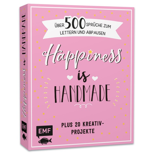Buch - Happiness is Handmade 320 Seiten, 21x17cm, Hardcover