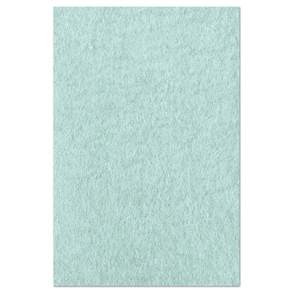 Wollfilz ca. 1-1,2mm 20x30cm arctic mint 100% Wolle