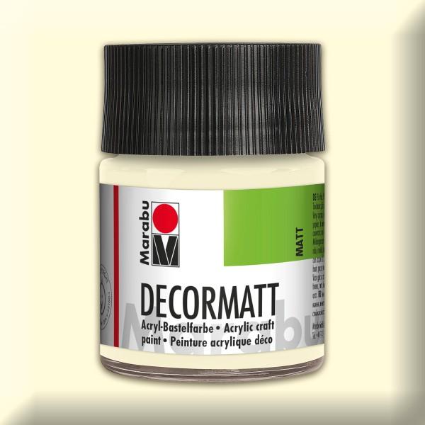 Decorlack Acryl matt 50ml elfenbein