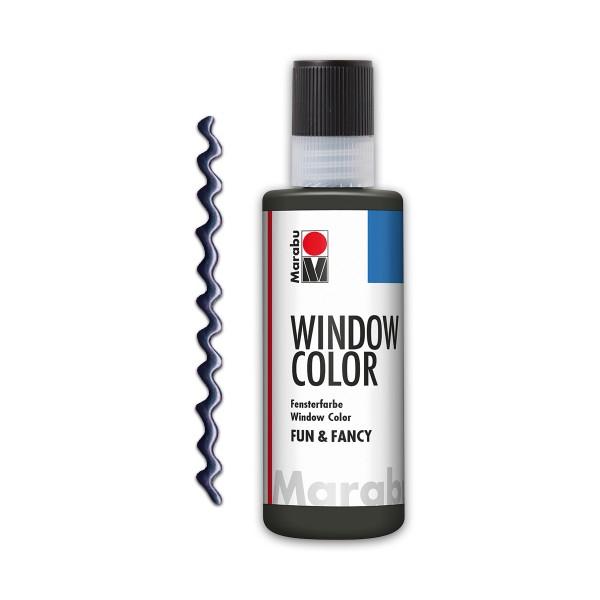 Marabu fun&fancy 80ml Kontur bleimetallic Windowcolor