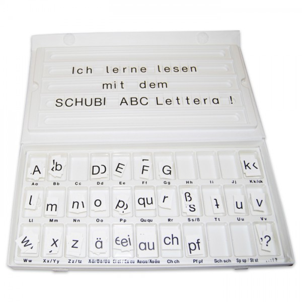 ABC-Lettera Buchstabensortiment 351 St. Karton, ab 3 Jahren