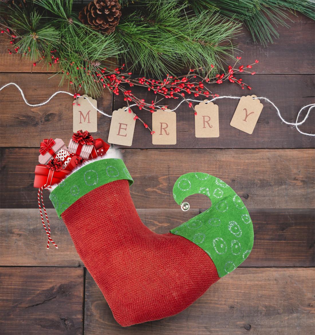 Nikolausstrumpf - Pimp Santas Socken