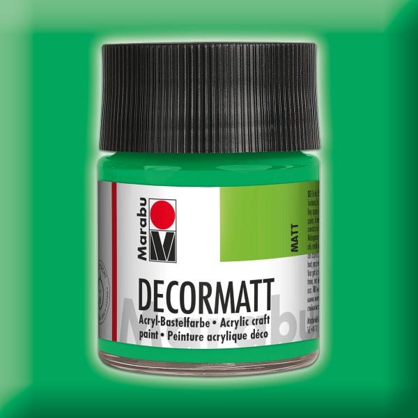 Decorlack Acryl matt 50ml hellgrün
