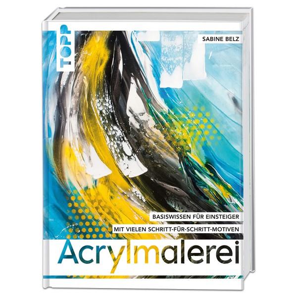 Buch - Acrylmalerei 144 Seiten, 22x28cm, Hardcover