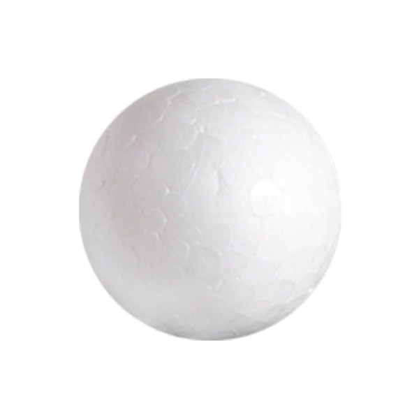 Styropor-Kugel weiß Ø 10cm