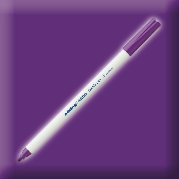 edding 4600 Textilstift violett Strichbreite 1mm
