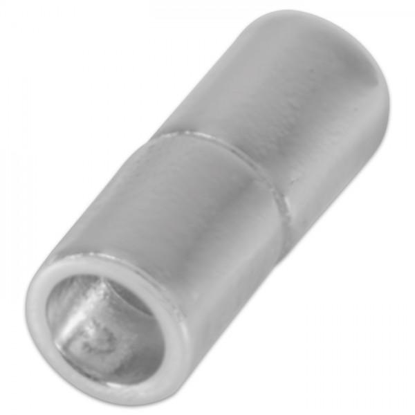 Power-Magnetverschluss z. Kleben 21x10,5mm edelstahlf. Innendurchmesser 8mm, Metall/Kunststoff