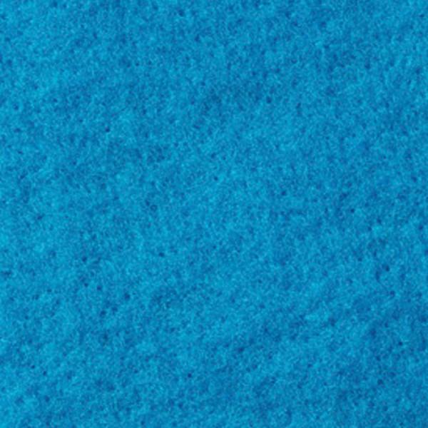 Nadelvlies 19,5mic 120cm 140g/m² türkisblau 100% Wolle