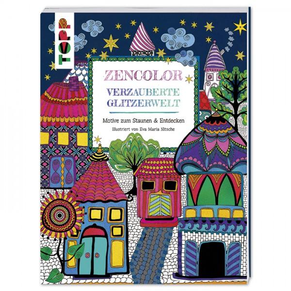 Buch - Zencolor - Verzauberte Glitzerwelt 80 Seiten, 19,7x25,2cm, Softcover