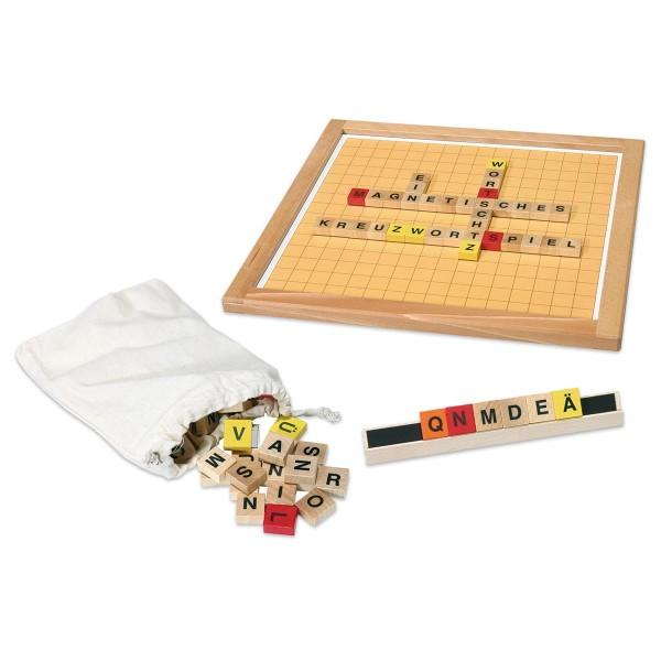 Magnetspiel Kreuzwortspiel/Wortschatz 35x35cm