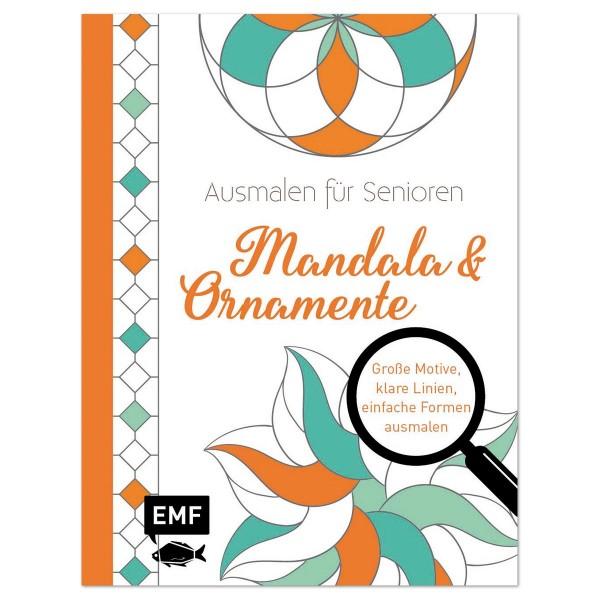 Buch - Ausmalen für Senioren - Mandala&Ornamente 64 Seiten, 21,9x16,7cm, Softcover