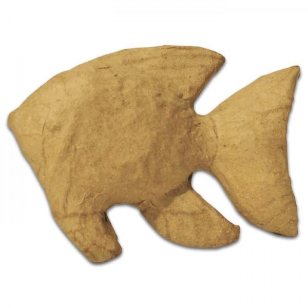 Fisch Pappmaché 10,5x3x7cm Größe XS, von Décopatch