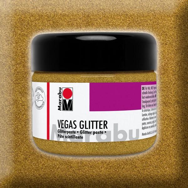 Vegas Glitter Effektpaste 225ml gold