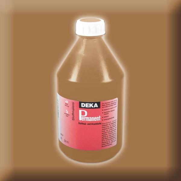 Deka-Permanent Stoffmalfarbe 500ml hellbraun