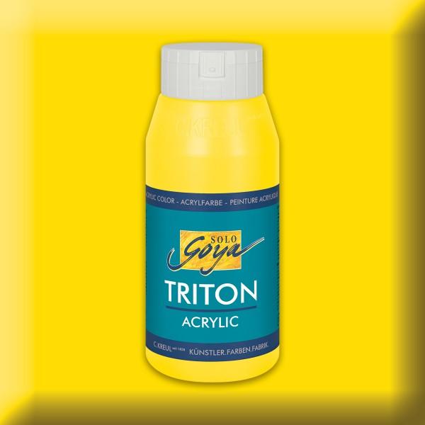 Triton Acrylfarbe 750ml echtgelb
