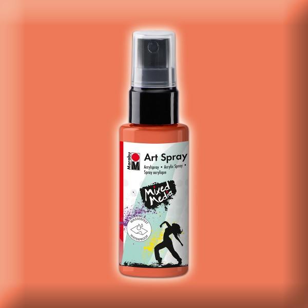 Art Spray Acrylspray 50ml rotorange