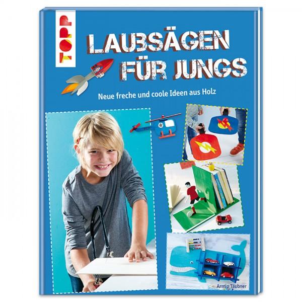 Buch - Laubsägen für Jungs 80 Seiten, 20,5x26,5cm, Hardcover