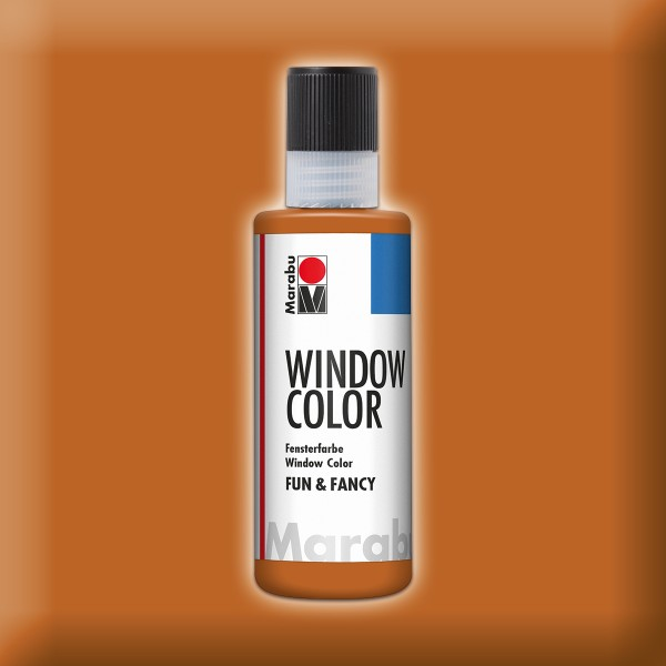 Marabu fun&fancy 80ml hellbraun Windowcolor