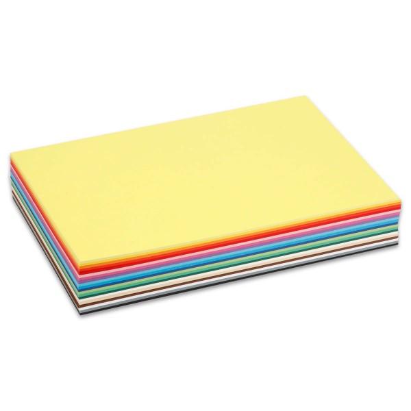 Tonkarton 180g/m² DIN A4 300 Bl./20 Farben