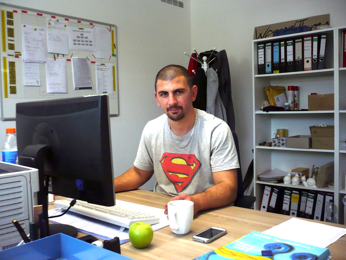 Kosta wird Meister: einer unserer IKV-Helden