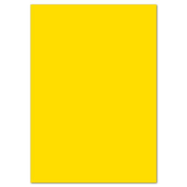 Tonkarton 220g/m² DIN A4 100 Bl. sonnengelb