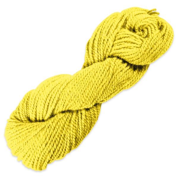 Smyrnawolle 100g sonnengelb LL 30-32m, 100% Wolle