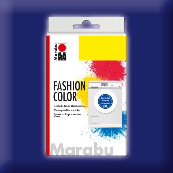 Marabu Fashion Color 30g ultramarin dunkel kochechte Textilfarbe