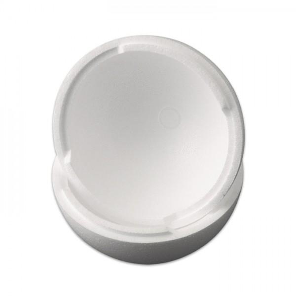 Styropor-Kugel teilbar weiß Ø 15cm