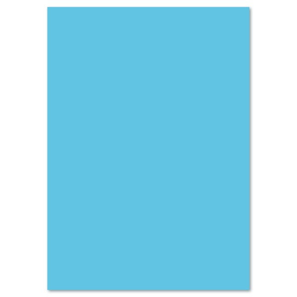 Tonkarton 220g/m² DIN A4 100 Bl. himmelblau