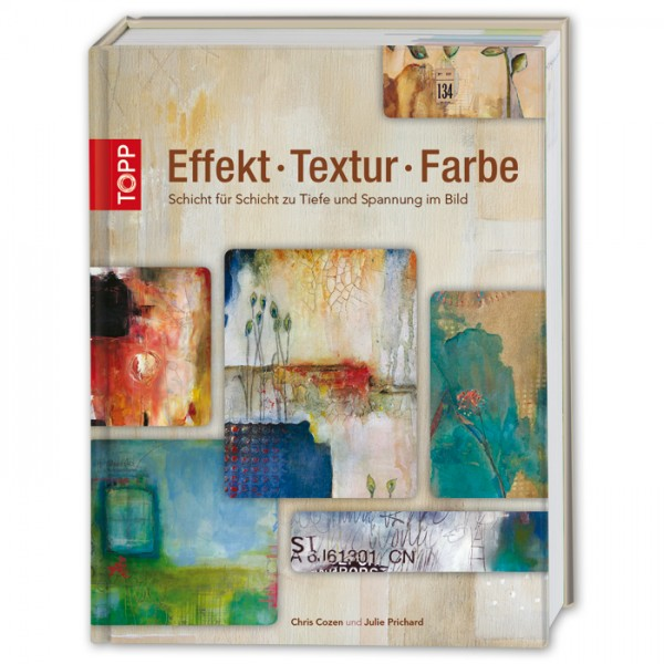 Buch - Effekt Textur Farbe 128 Seiten, 21x27,6cm, Hardcover