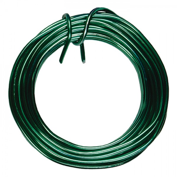 Aludraht 2mm 5m grün