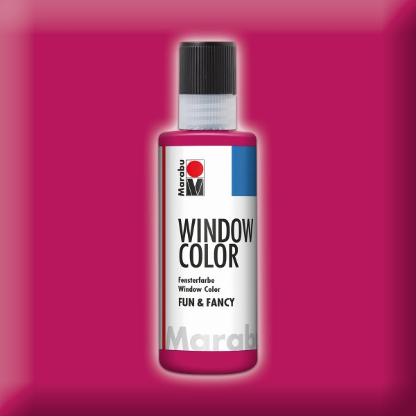 Marabu fun&fancy 80ml bordeaux Windowcolor