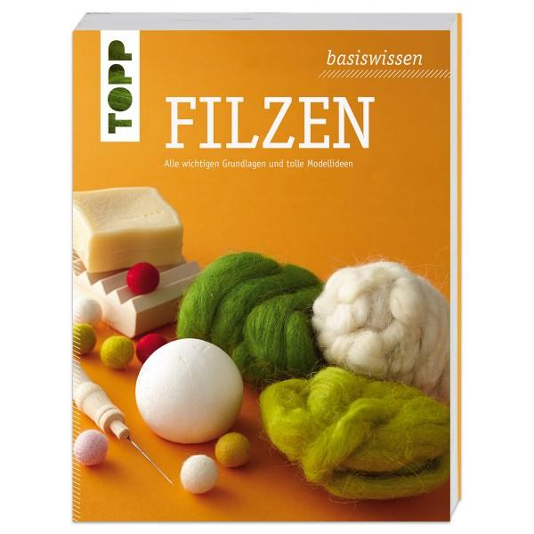 Buch - Basiswissen Filzen 192 Seiten, 15,9x2x20,8cm, Softcover