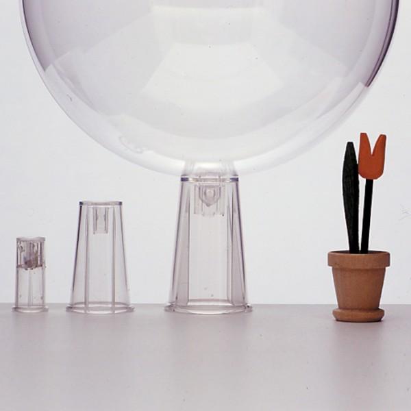 Adapter Kunststoff f. Stäbe Ø 16mm transparent